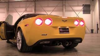 2009 corvette zr1 loud start and revs in hangar walkaround and full details