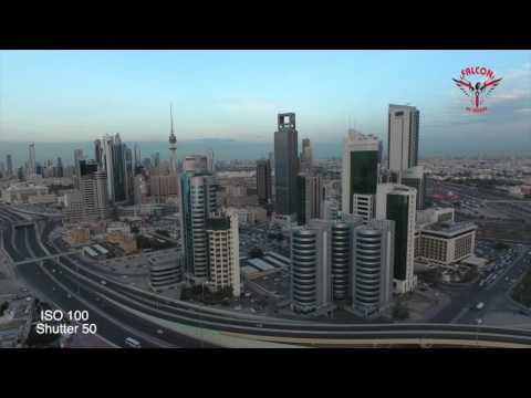 PHANTOM 4 in Action Kuwait City