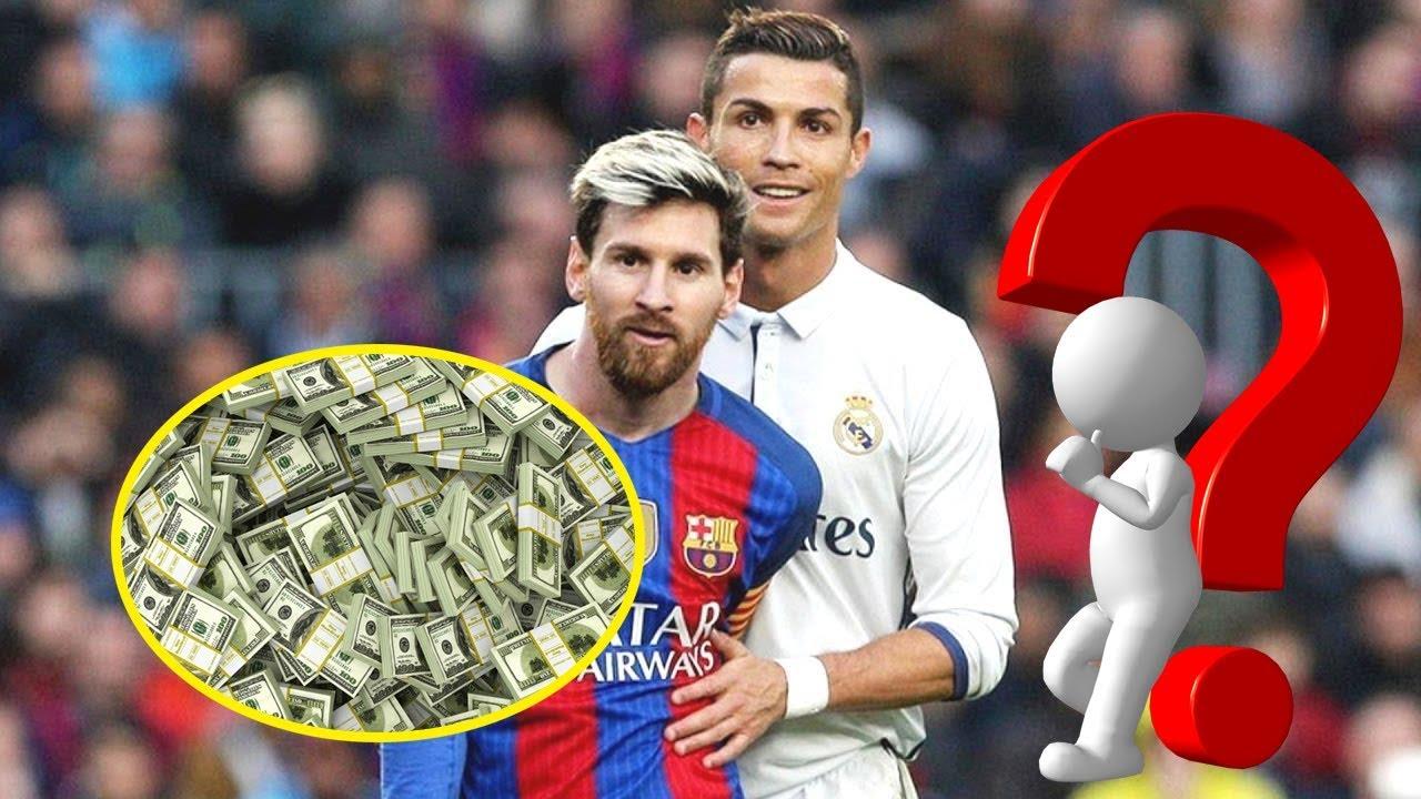 Xác suất Thống Kê | Top 10 cầu thủ có lương cao nhất thế giới