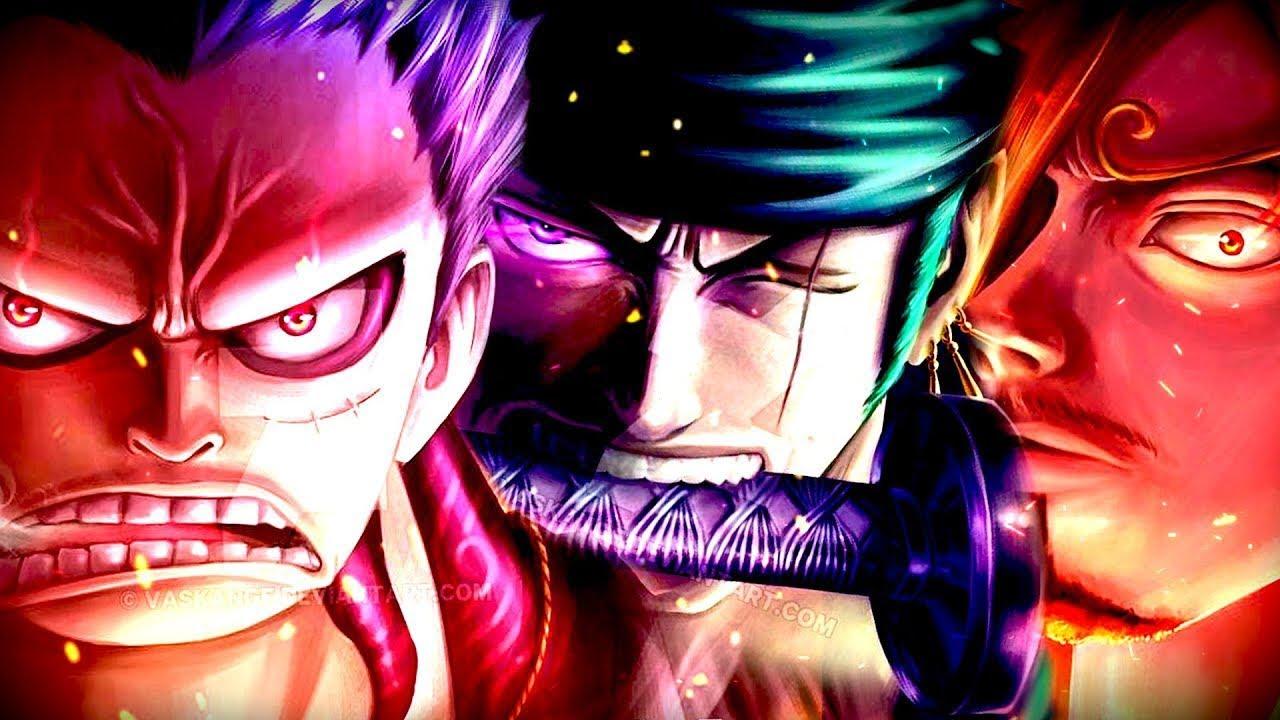 One Piece Amv Monster Trio Luffy Zoro Sanji Hd Youtube