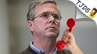 Jeb Bush's Weird Reaction To His Dad's Death