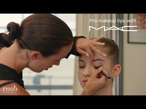 M.A.C Cosmetics Dancer Makeup Tutorial 1: Perfectly Winged Eyeliner