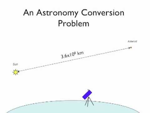03 - An Astronomy Unit Conversion