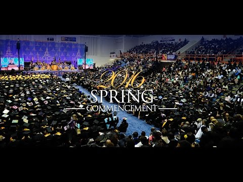 Morgan State University 2016 Spring Commencement
