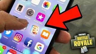 FORTNITE MOBILE! HOW TO GET FORTNITE MOBILE! (Fortnite Battle Royale Mobile)