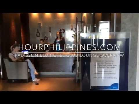 Radisson Blu Business Class Club Lounge Overview Cebu by HourPhilippines.com