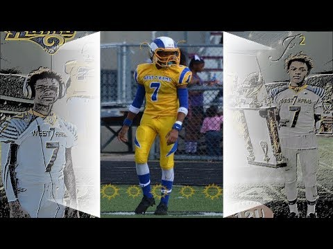 Jameel Croft Jr. 2017 West7Rams (B-Team) Season Highlights