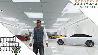 GTA 5 MY HOUSE AND GARAGE TOUR HINDI