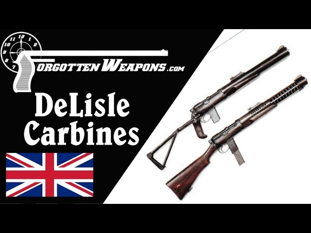The DeLisle: Britain's Silenced  45 ACP Commando Carbine