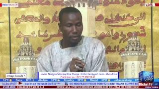 LIVE   ''JOTAAYU XASSIDA YI ''Invité: Serigne Moustapha Gueye Hizbut Tarqiyyah Darou Khoudoss