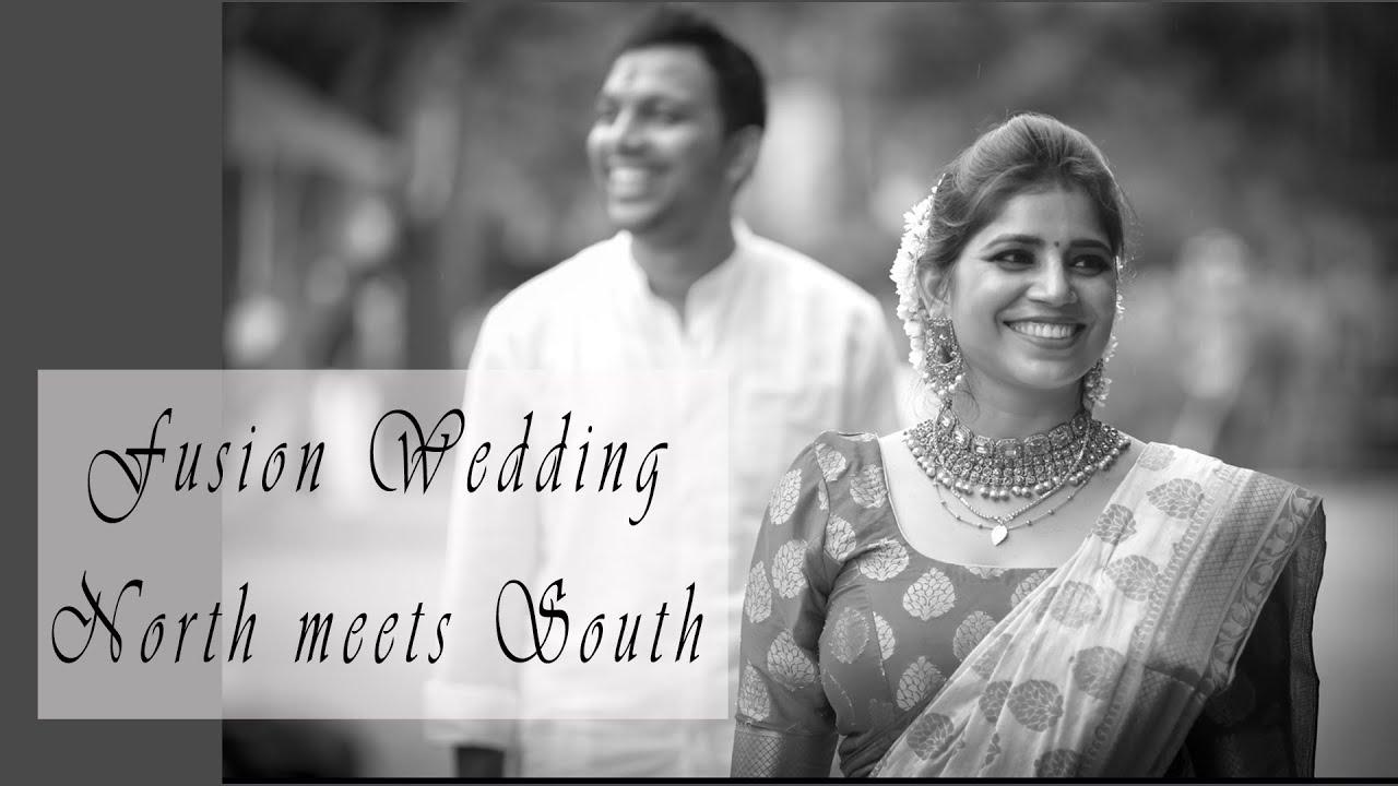 Lockdown Wedding, Fusion Wedding Teaser | North Indian Bride | South Indian Groom | Glittering Shots