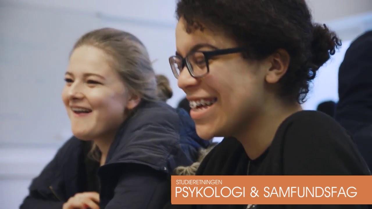 Studieretningen Psykologi & samfundsfag