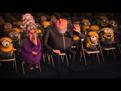 Despicable me - minions night kiss and dance HD