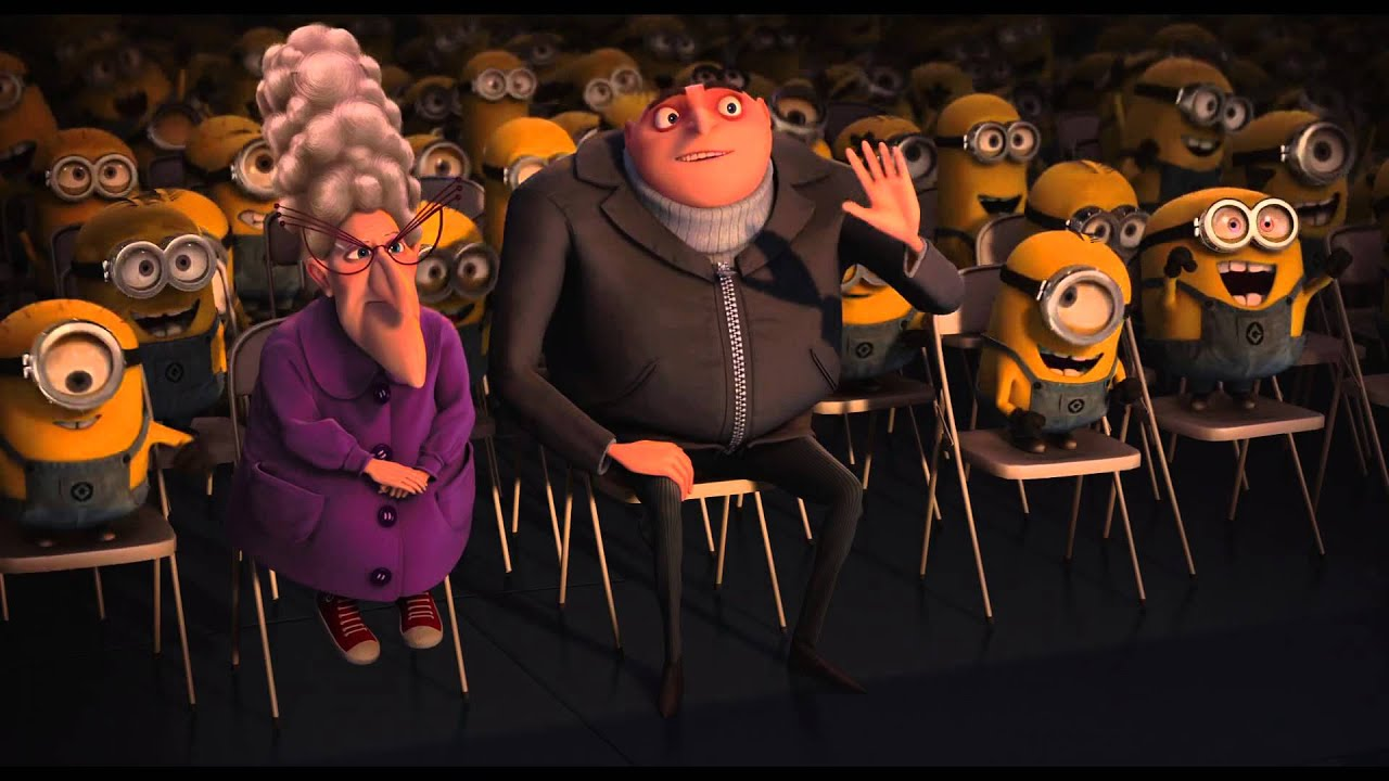 Minion Kissing Camera : Despicable me minions night kiss and dance hd youtube