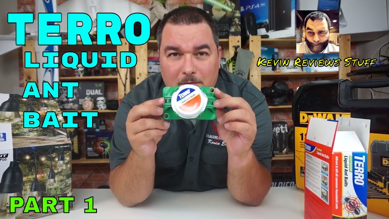 Kevin Reviews Stuff Part 1 Review Of Terro Outdoor Liquid Ant Baits Part 1 Youtube