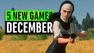 5 New Games December 2019 (including A Free Game)