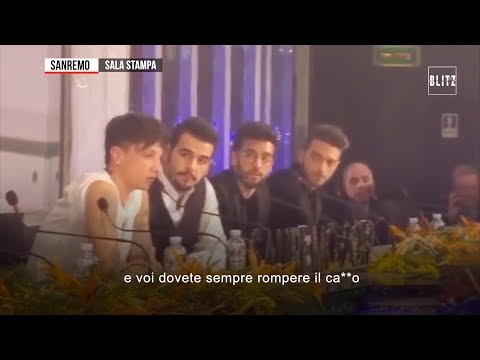 Sanremo 2019, la furia di Ultimo contro i giornalisti: 'Dovete sempre rompere il c...'