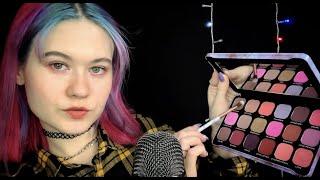 АСМР ДЕЛАЮ МАКИЯЖ СВОЕМУ ПАРНЮ ASMR RP I do makeup for my boyfriend