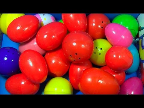 25 Surprise Eggs!!! Disney CARS MARVEL Spider Man SpongeBob HELLO KITTY LittlestPetShop ANGRY BIRDS