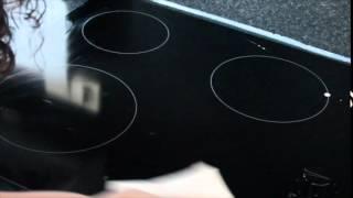 Keramische kookplaat schoonmaken