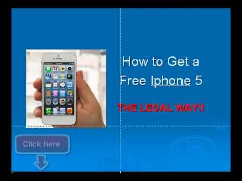 get iphone free how to get a free iphone 5 in 3 easy steps 7720