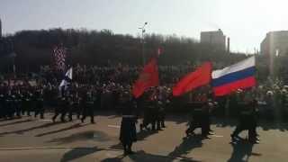 Парад победы 2014 Североморск