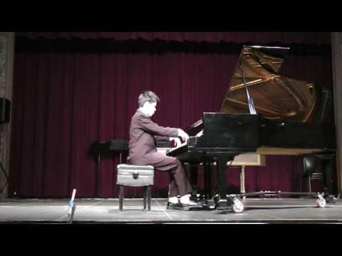 2017 JUNIOR BACH, Alex Yang, Piano, PARTITA: C Minor (S826)