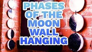 DIY Phases of the Moon Wall Hanging - HGTV Handmade