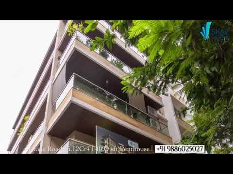 4 Bedroom Penthouse For Sale In Richards Town, Bangalore