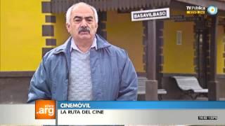 Vivo en Arg - Cinemóvil en Basavilbaso, Entre Ríos - 02-12-13