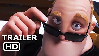 INCREDIBLES 2 New Official Trailer (2018) Animation