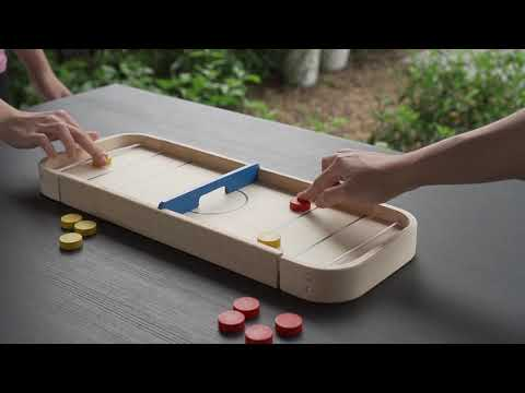 PlanToys   2-in-1 Shuffleboard Game