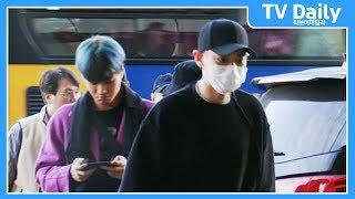 엑소(EXO) '조심히 잘 다녀오겠습니다'