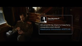 Retweet the Revolution  What if Twitter existed 100 years ago? (Nicholas II Promo)