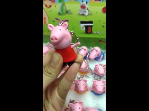 LLAVERO GANCHILLO AMIGURUMI PEPPA PIG - Orujos y Vinos | 360x480