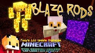 Mineacraft 1.11 - BLAZE RODS & MAGMA CREAM - Minecraft 1.11 Exploration Update Challenge [11]