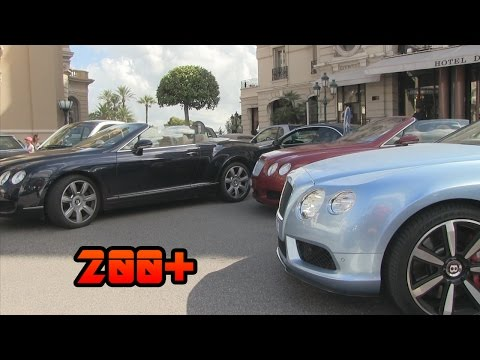 200+ Bentleys in Monaco | BENTLEY MADNESS!