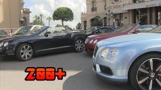 200+ Bentleys in Monaco   BENTLEY MADNESS!