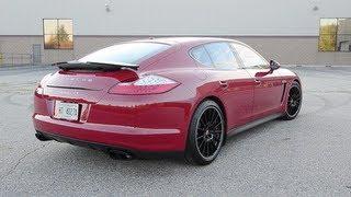 2013 Porsche Panamera GTS - WINDING ROAD POV Test Drive