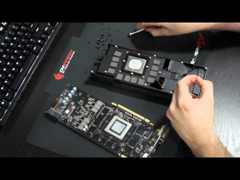 How to Water Cool a Video Card - GTX 780 with EK Full Cover Block