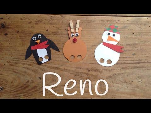 Cómo hacer un reno de navidad de forma rápida y divertida