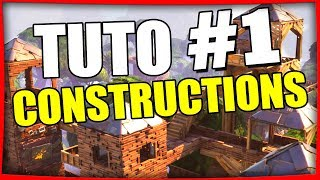 TUTO CONSTRUCTION #1 FORTNITE BATTLE ROYALE TUTO Fr