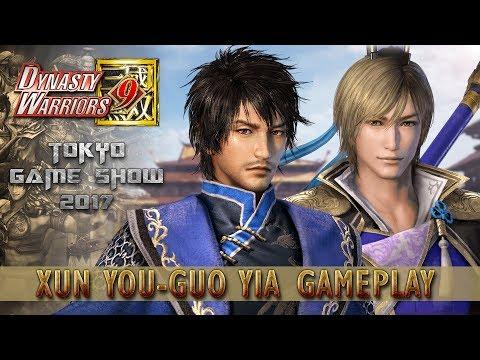Dynasty Warriors 9 New Xun You / Guo Yia Gameplay - TGS 2017 Demo 『真・三國無双8』
