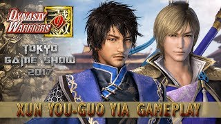 Dynasty Warriors 9 New Xun You / Guo Yia Gameplay - TGS 2017 Demo 『真・三國無双8』