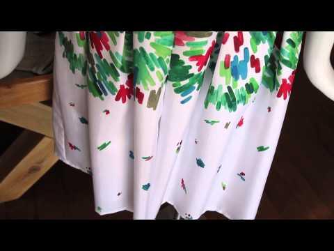 Good Fabrics for a Strapless Sundress : Women's Summer Fashion