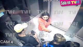Gaby Ramírez se enfrenta a golpes con sus vecinos ¡peligro en el elevador!