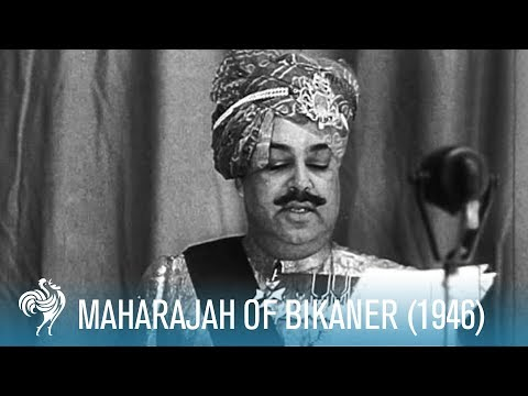 Maharajah Of Bikaner: A Royal Birthday (1946) | British Pathé