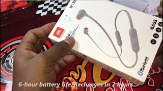 Unboxing JBL T110 BT Bass Bluetooth in ear headphones !!