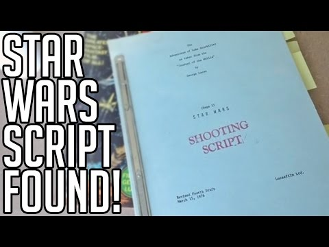 Download Youtube: Star Wars Script Found - Han Shot First - STAR WARS NEWS