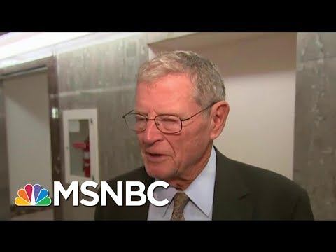 Joe: Sen. Jim Inhofe Is Getting It Wrong On President Donald Trump's Approach | Morning Joe | MSNBC